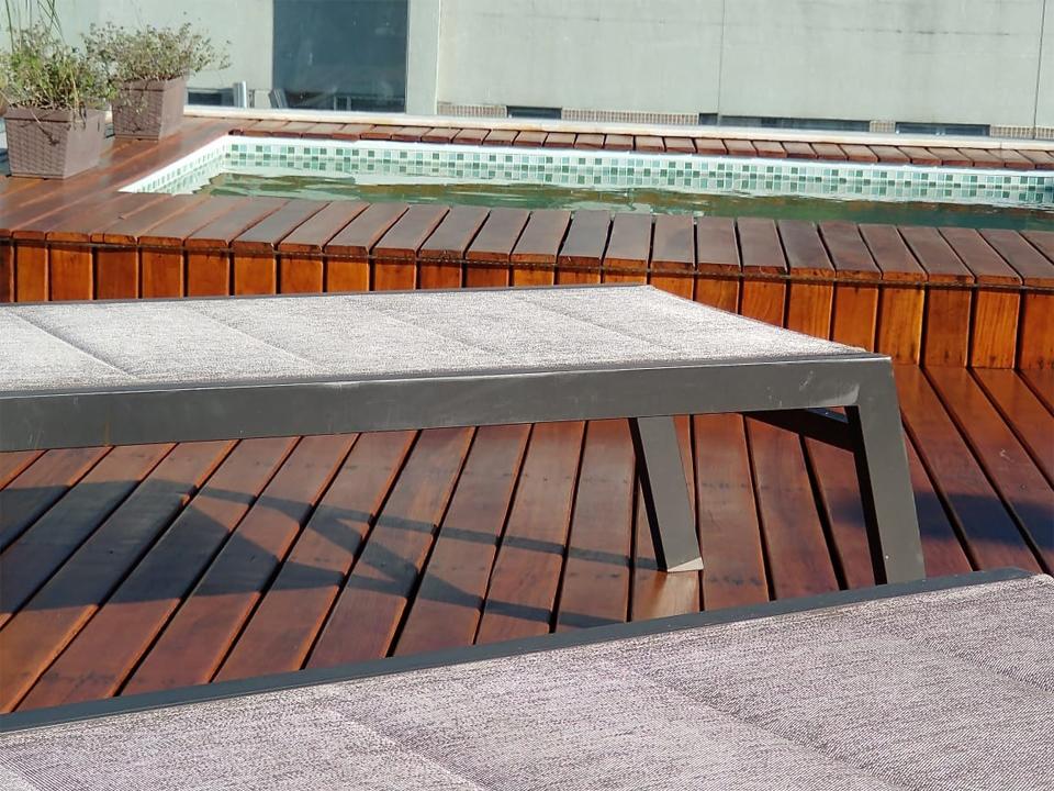 Piscina e Deck em cobertura na Tijuca, RJ